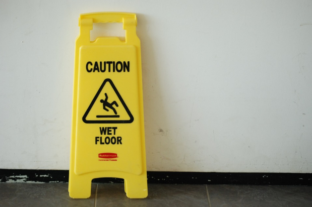 Easy Ways to Prevent Slips & Falls at Your Laundromat