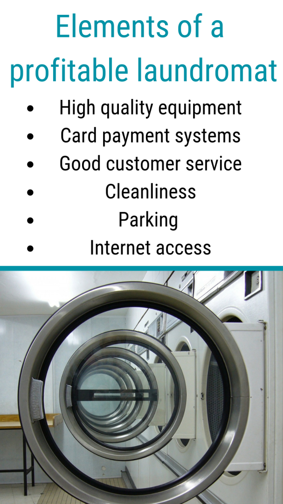 Elements of a profitable laundromat